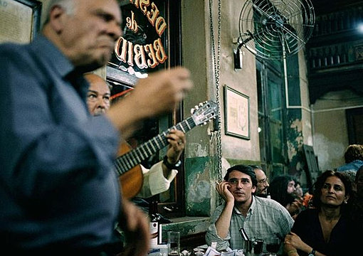 Bar music in Buenos Aires
