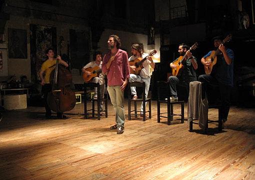 Tango show at La Catedral