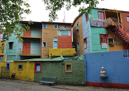 Colors of La Boca, Buenos Aires