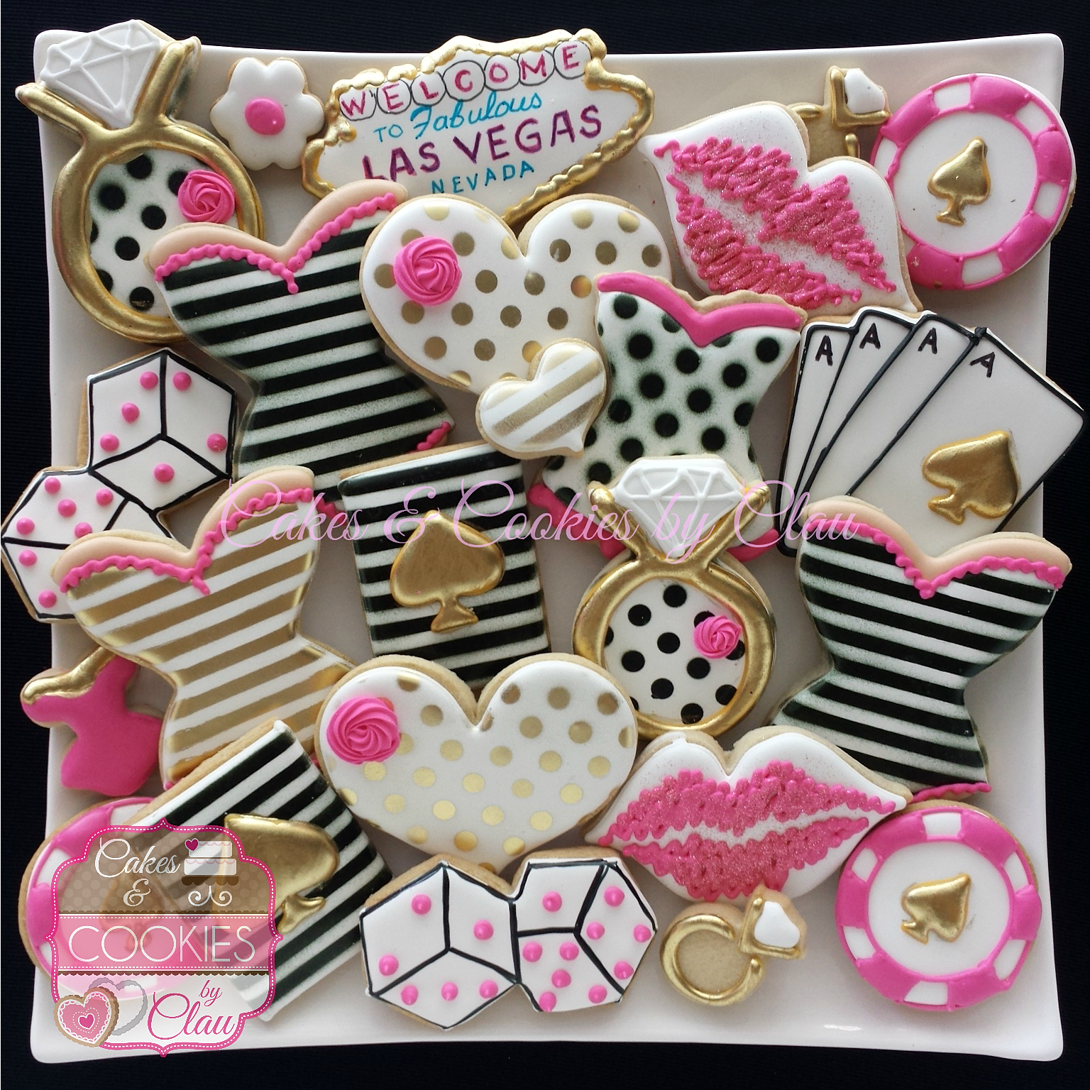 Cakes Cookies by Clau Custom Decorated Sugar Cookies Houston TX