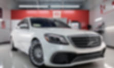 This 2018 Mercedes S65 amg receive cryst
