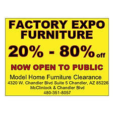 Model home furniture outlet az
