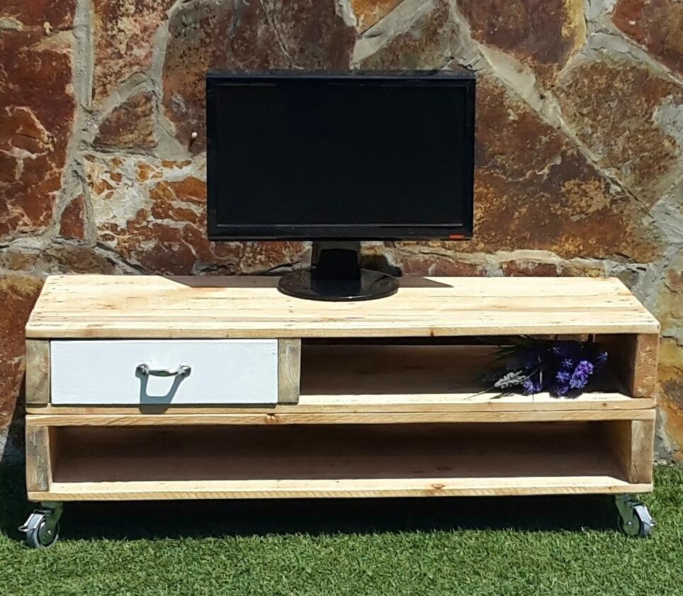 Mueble Para La Tv Con Palets