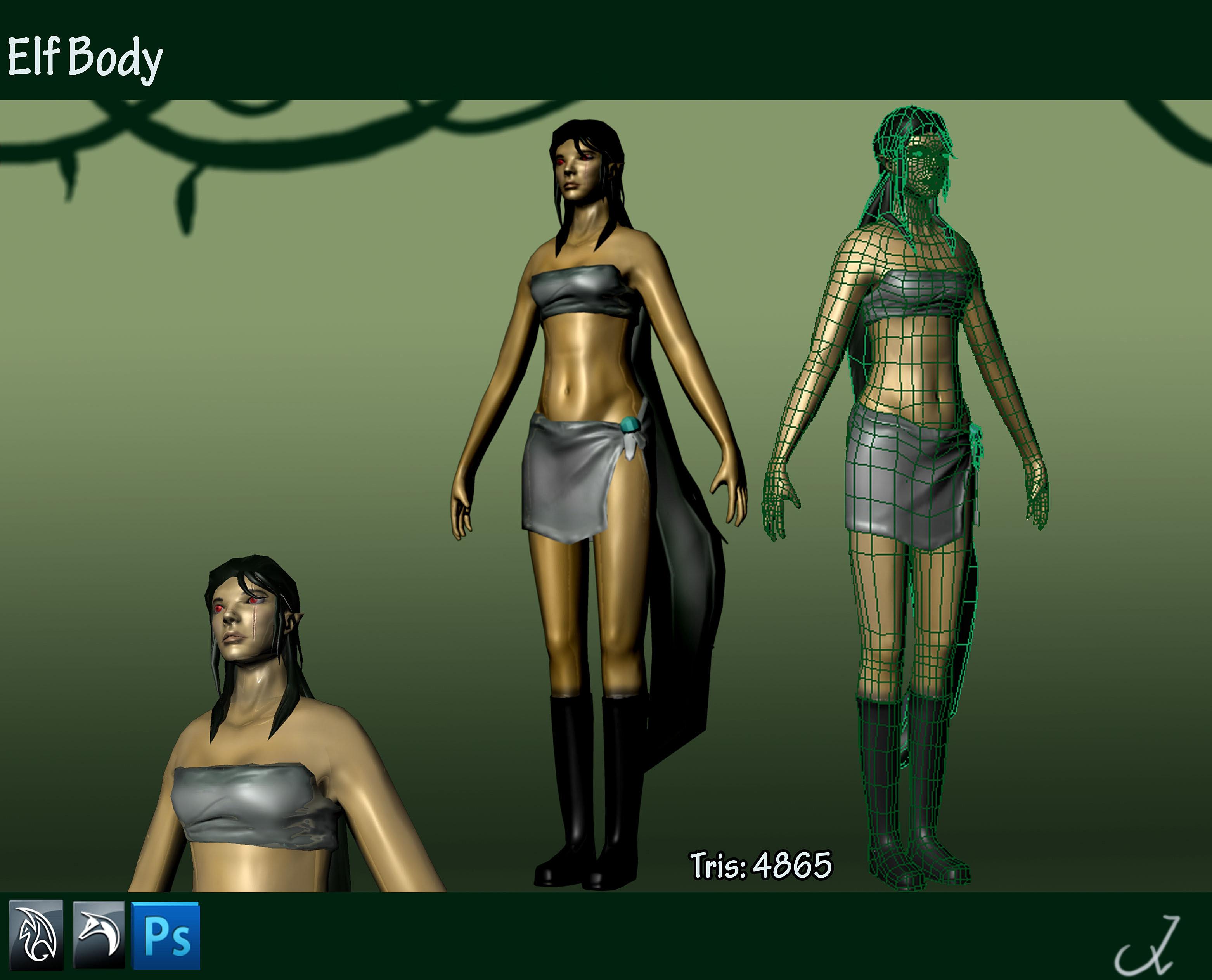 Elf 3d model porn images