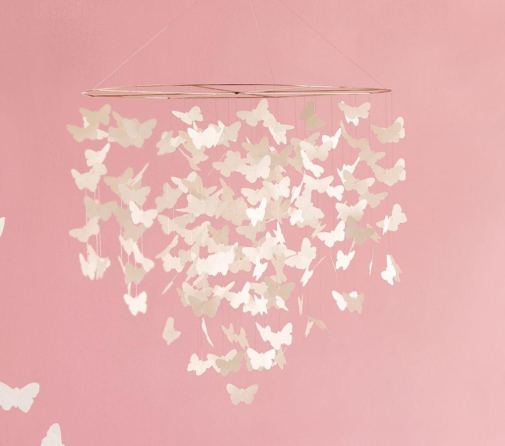Бабочки к потолку своими руками шаблоны 40