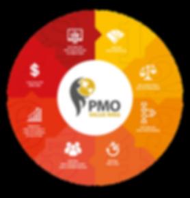 Etapas do PMO Value Ring