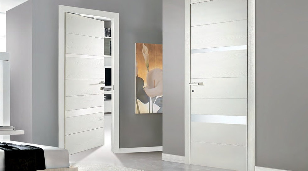 Eurofinestra porte interne in legno for Porte interne bianche moderne