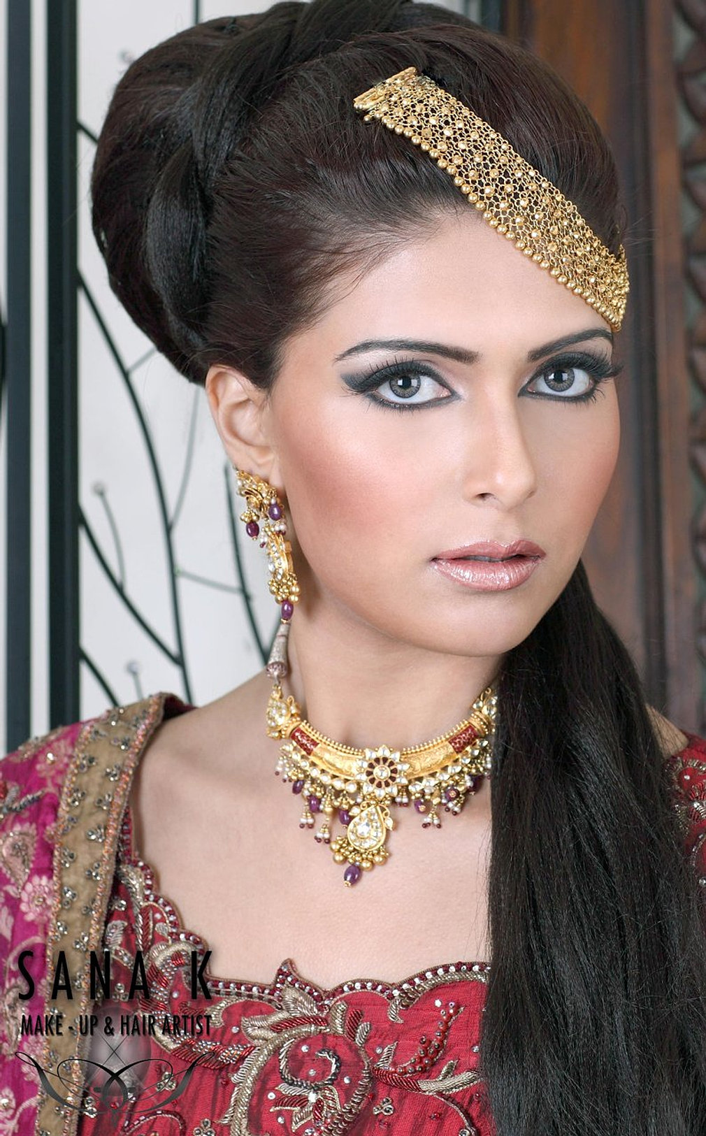 Asian bridal makeup nottingham