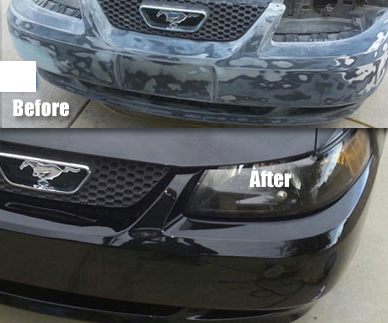 Bumper Before and After