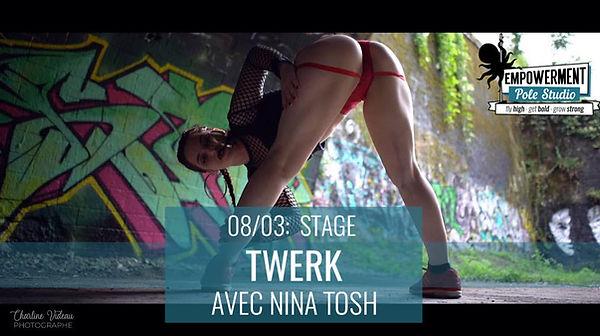 stage twerk pole dance empowerment studio 92 rueil fitness ile de france paris