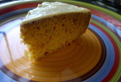 Honey Carrot  Cake Dessert