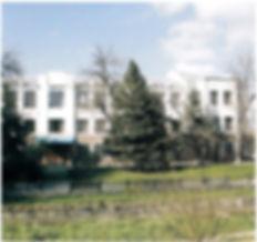 Симферопольский колледж Национального университета пищевых технологий на ул.Гаспринского, 3 (бывший техникум консервной промышленности). Фото Д.Лосева, 2013 г.