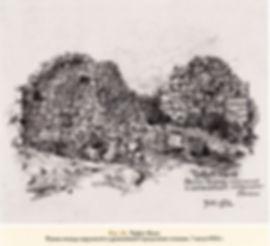 Рис.24. Чуфут-Кале. Руины между наружной