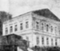 Здание бывшей почтовой станции в городе Аксае, где останавливался Пушкин.
