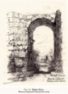 Рис.23. Чуфут-Кале. Ворота Средней город