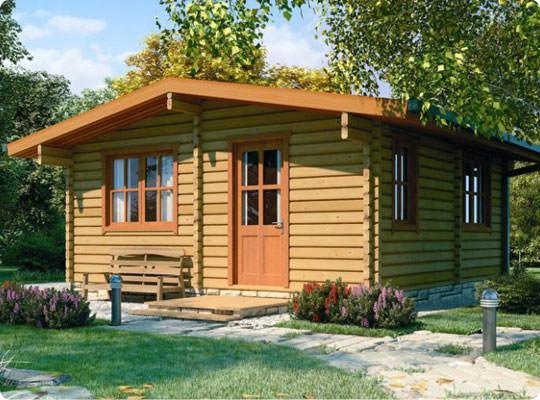 Case in pietra e legno design casa creativa e mobili for Casa in legno prefabbricata