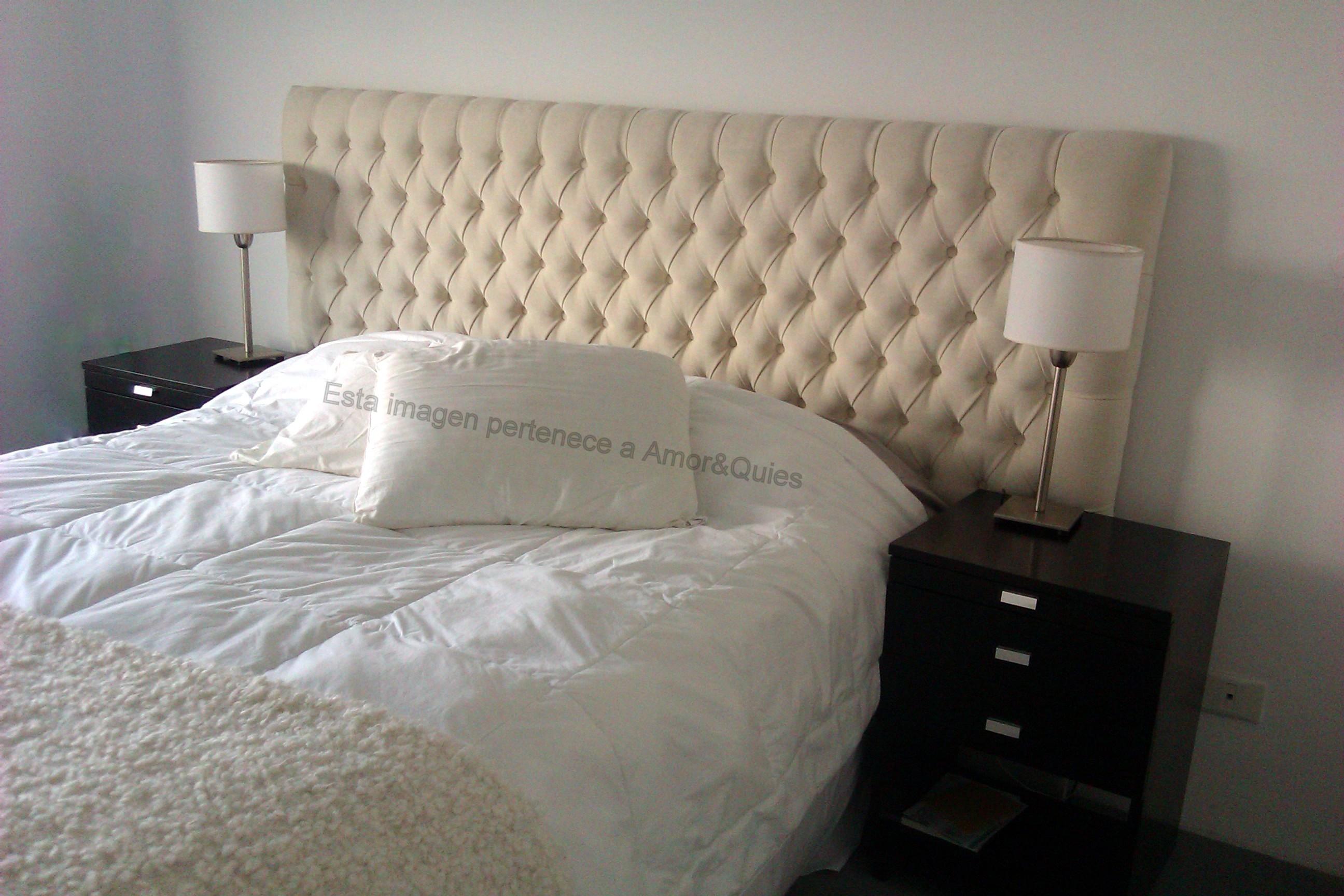 Respaldos de somier respaldo capiton - Telas para tapizados de muebles ...