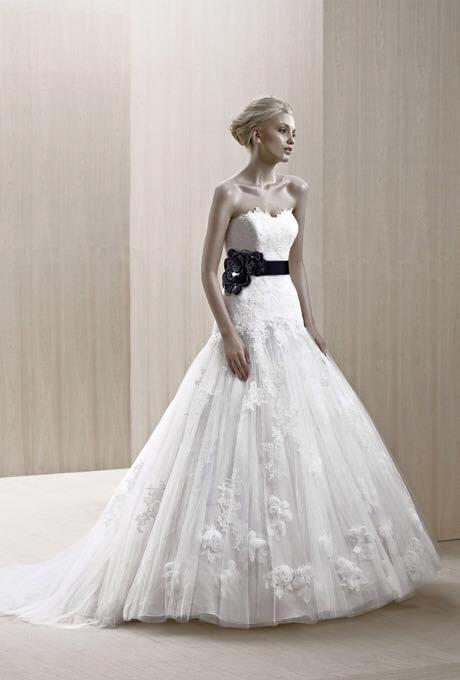 Blue Wedding Dress Size 10