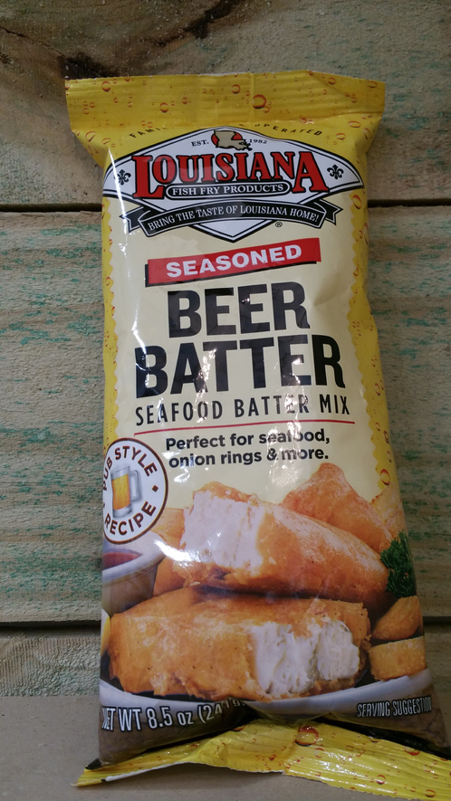 Louisiana fish fry beer batter new orleans beef jerky for Best fish fry batter