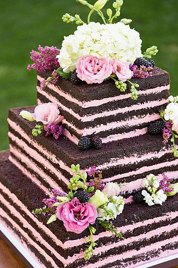 Naked Wedding Cake Brisbane