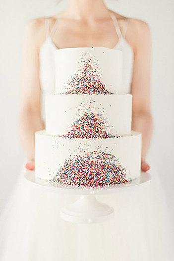 Hundred & Thousands Wedding Cake Brisbane