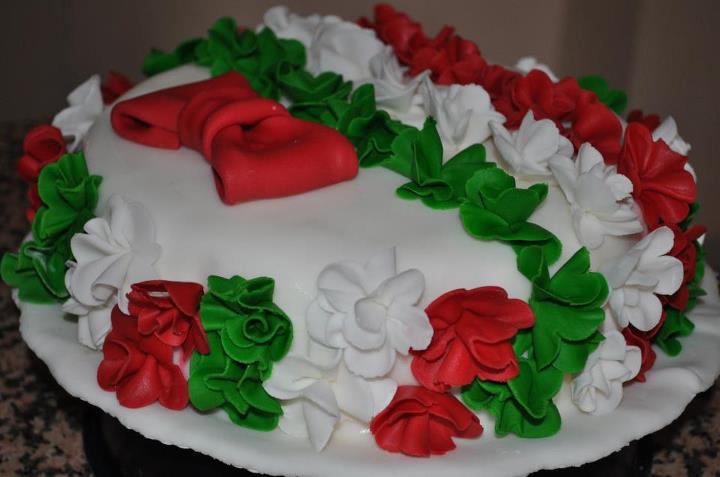 Manuela e Giuliana Cakes | Torta Tricolore