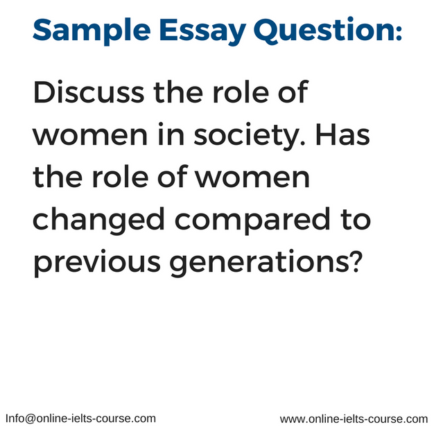 essay question terms discuss