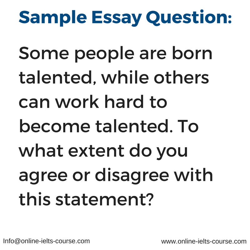 essays ielts