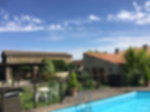 holiday complex near Cheffois, Vendee, with pool
