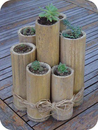 Idées déco à faire avec des bambous ! | So Bio, So Local, So Positive