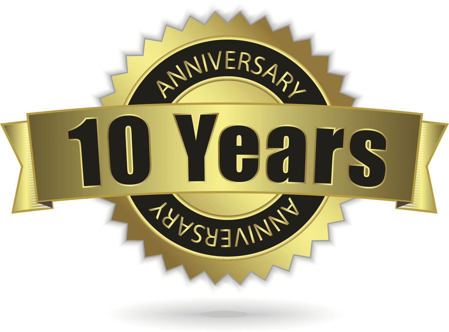 LJ Congratulations on 10  1 Year Work Anniversary Congratulations