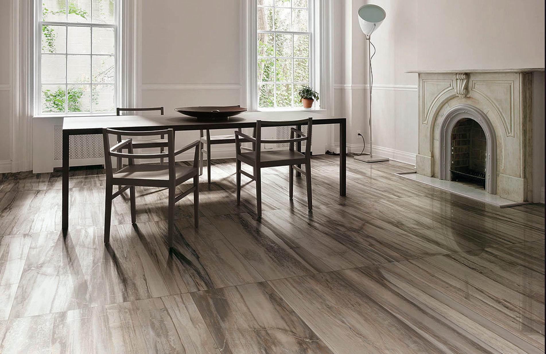 grey-wood-floor-tile-ceramic-floor-tile--stone - Calvetta Brothers Floor Show 216-220-6473