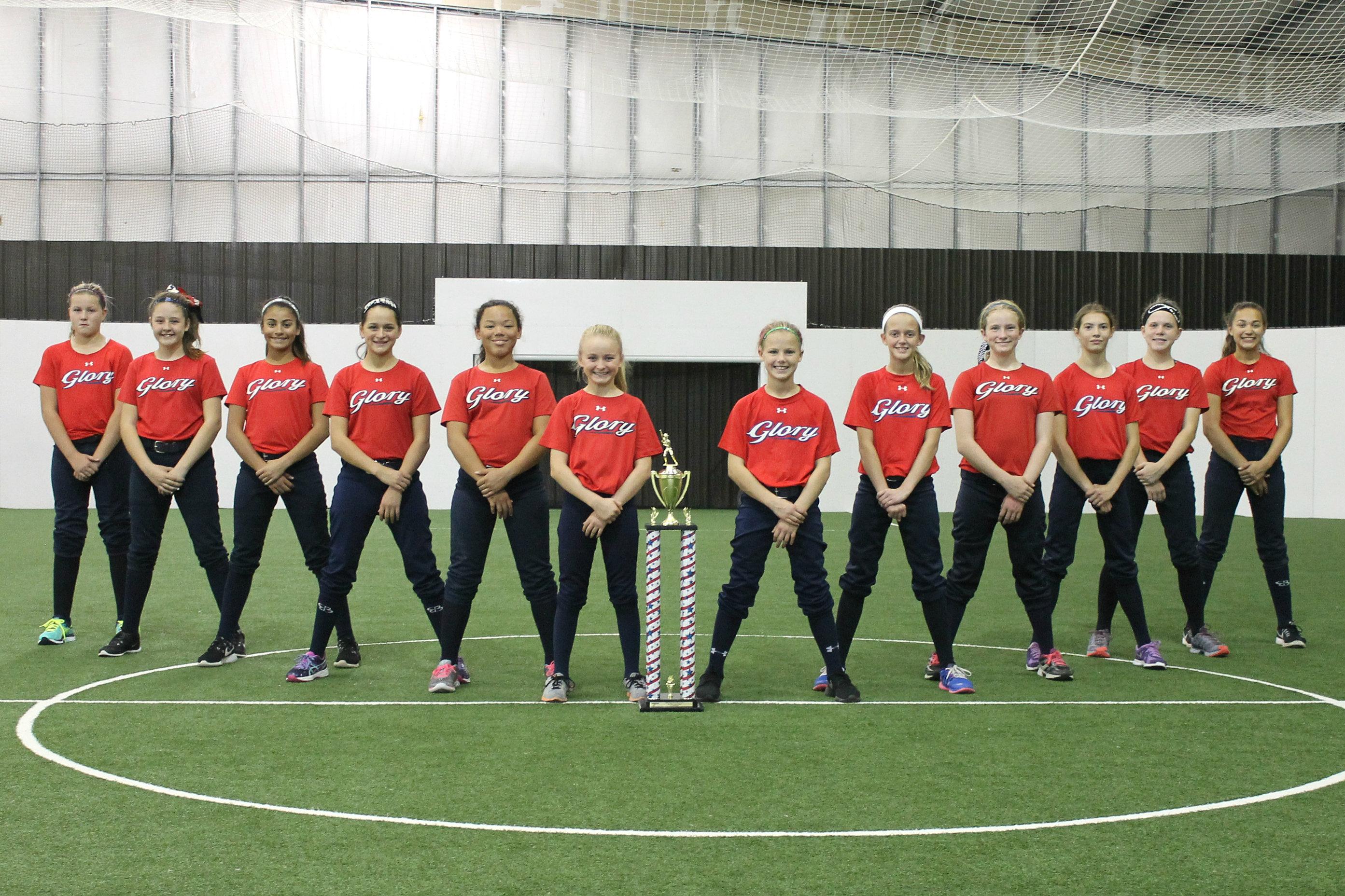 team glory fastpitch softball mil appreciation wix logo