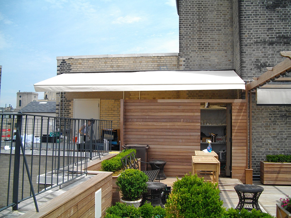 Five Star Awnings Inc. - Retractable Awning, hotel NYC ...