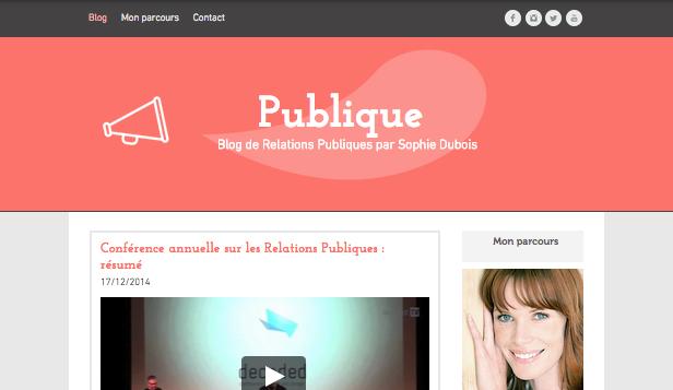 Blog Relations Publiques