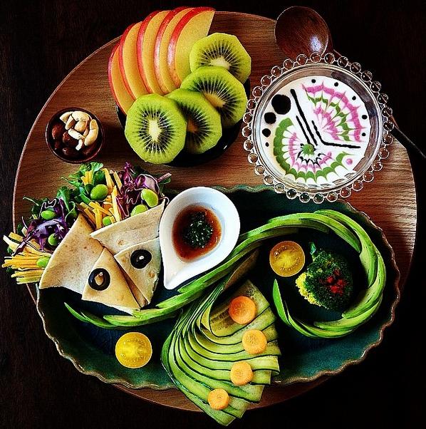 картины из еды инстаграм только для