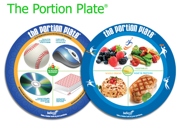 the gi and bariatric nutrition center portion plate