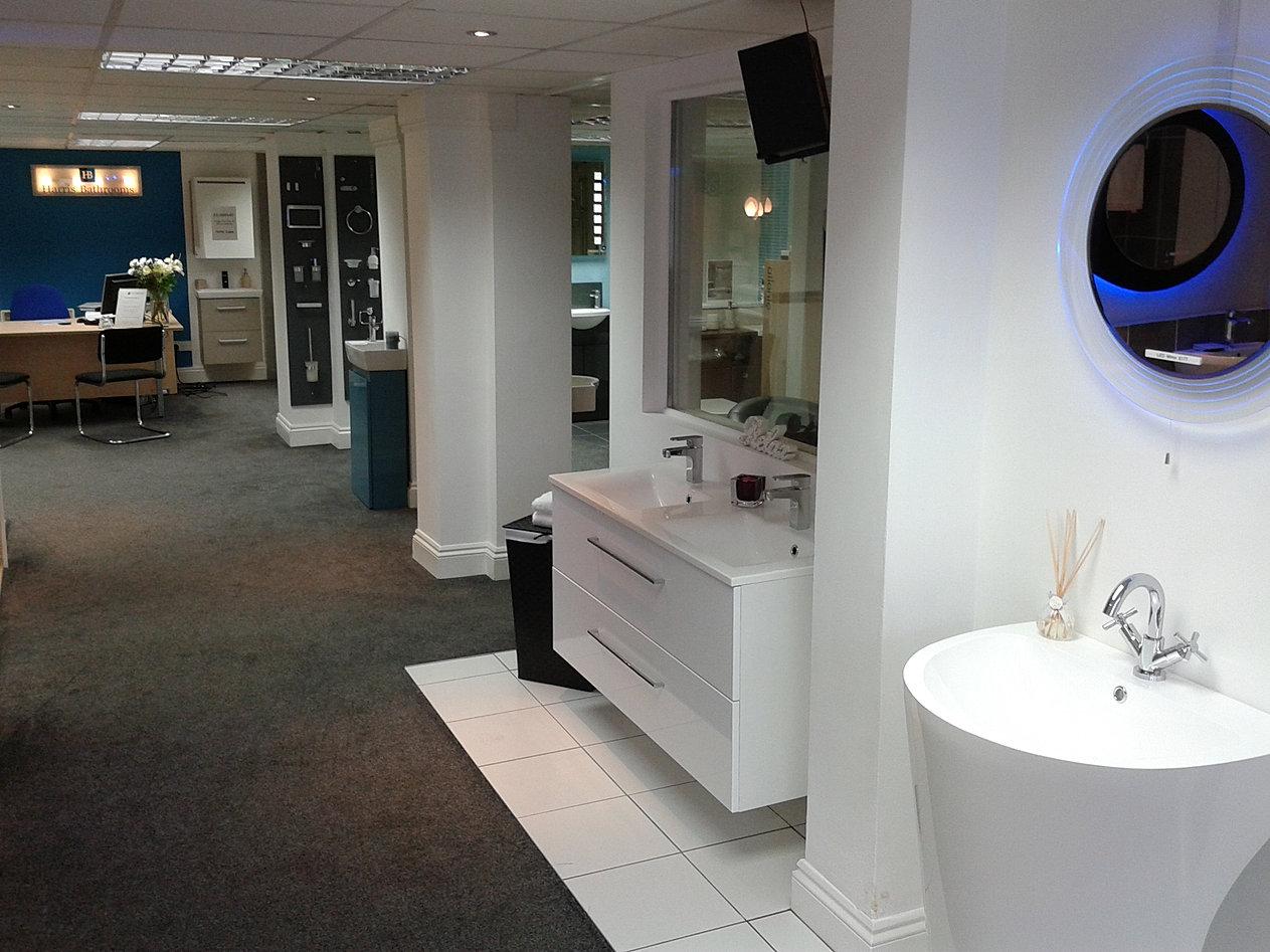 Bathroom vanities showroom