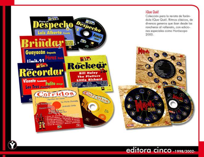 Colección de CD