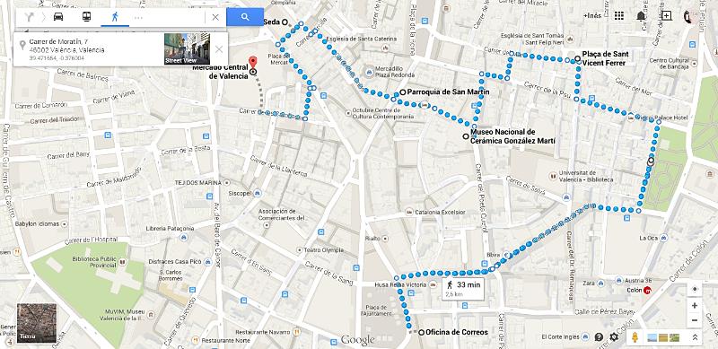 Mapa de la ruta literària Ricardo i els animals