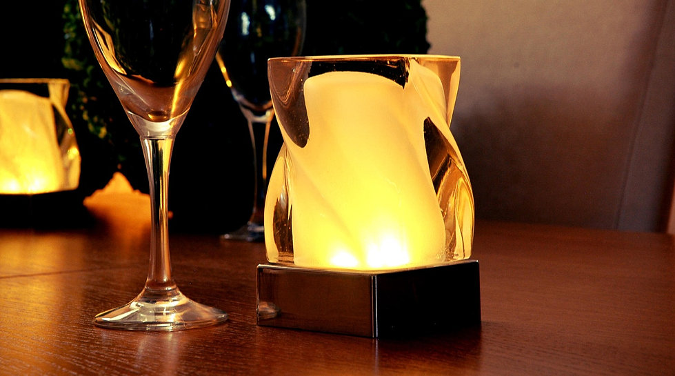 modern cordless table lighting restaurants homes. Black Bedroom Furniture Sets. Home Design Ideas