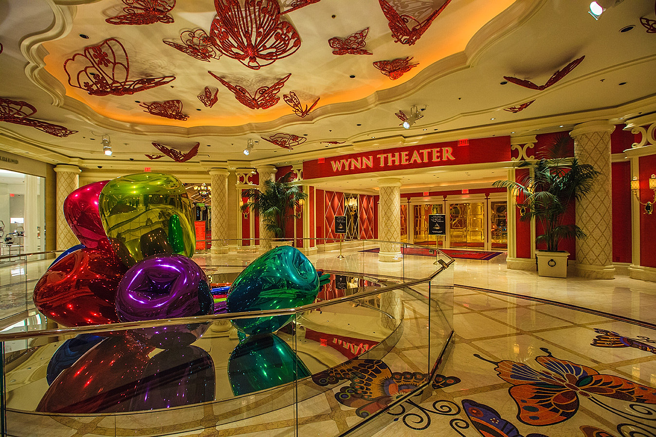 Bukhari Design Studio Las Vegas Interior Design Firm Le Reve Theater Rotunda