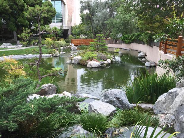 Japanese garden cal poly pomona bonsai club los for Formal japanese garden