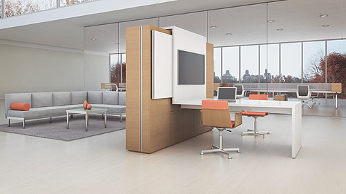 contemporary modular workstation lobby furniture bfs office furniture
