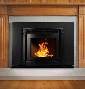 Menzies Sara Wood Pellet Fire