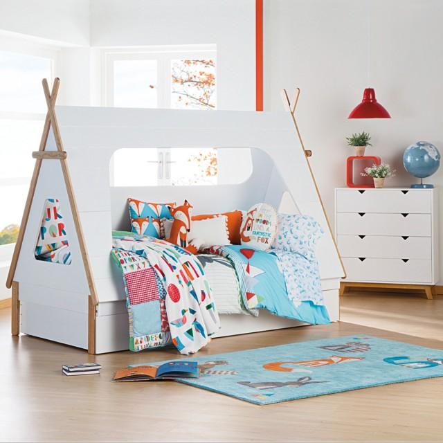 Decoraci n de dormitorios para ni os tendencias 2016 - Dormitorios infantiles blancos ...