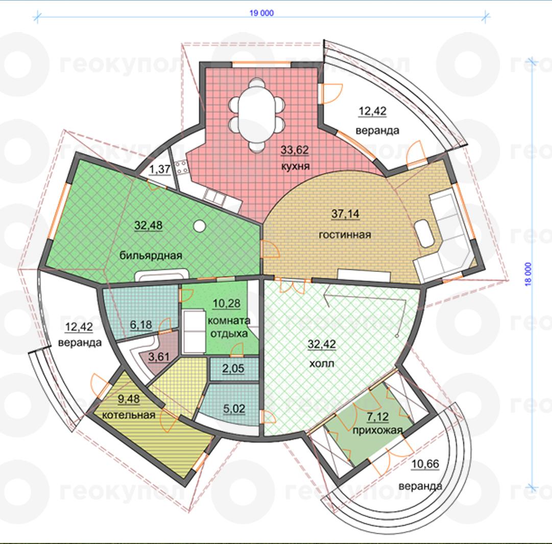 Постройка купольного дома своими руками подробная схема 49
