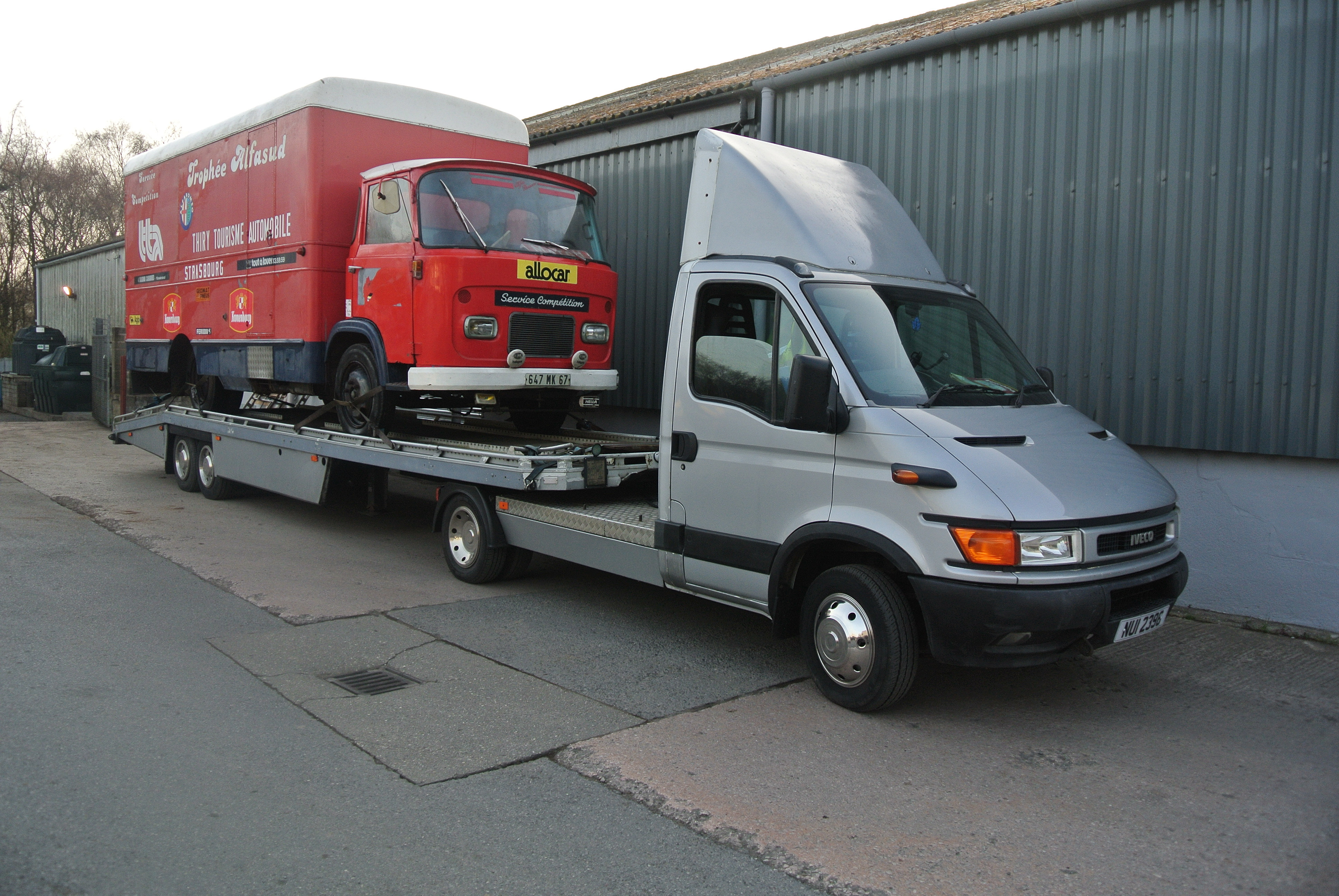 CBH Specialist Transport | Mini articulated lorry