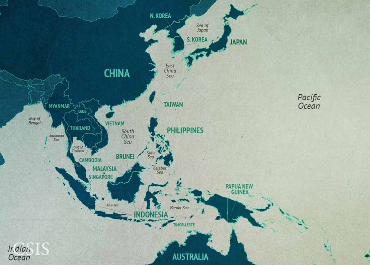 Tensions In The South China Sea Explained In 19 Maps ~ East Sea News