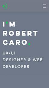 UX/UI 디자이너의 온라인 이력서